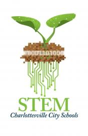 City of Charlottesville STEM Program  logo