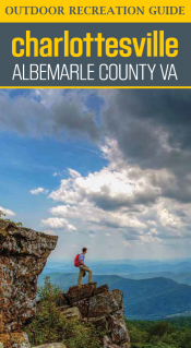 Charlottesville / Albemarle Outdoor Recreation Guide photo of a male hiking with great mountian views