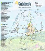 Charlottesville / Albermarle Map